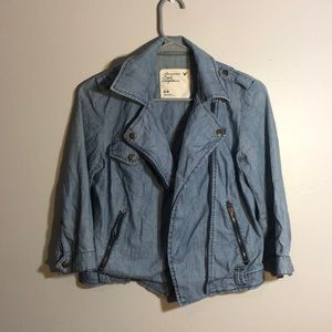 AMERICAN EAGLE OUTFITTERS blue jean jacket